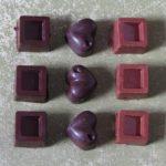 Saját készítésű csokoládék