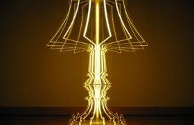 Fénnyel rajzolt lámpák
