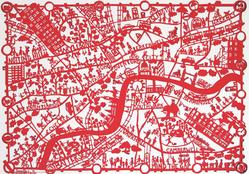 London-red