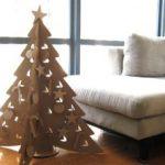Karácsonyfa újrapapírból