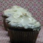 Mákos cupcake