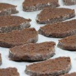 Rozsos-kakaós keksz