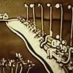 Homokba rajzolt szerelmi történet