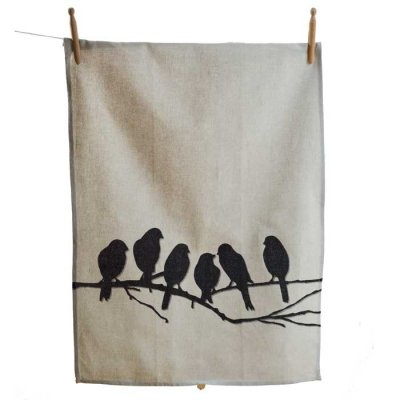 Lovebirdsteatowel