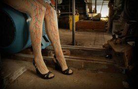 Érdekes női lábak