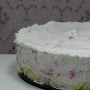 Málnás-joghurtos torta