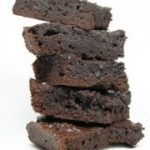 Duplán csokis brownies