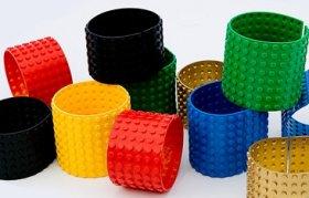 Legoból készült ékszerek