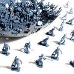 Waterlooi csata az ebédlőasztalon