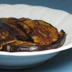 Padlizsán fűszeres-csípős kéreggel