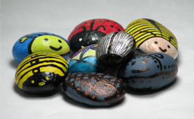 Bogaras kavicsok – köveskedő bogarak