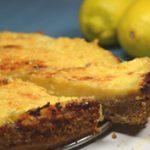 Citrommánia: sült citromkrémes torta