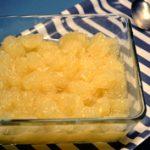 Téli gyümölcssaláta: mézes grapefruit