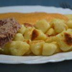 Borjú vadasmártással és sült krumplinudlival