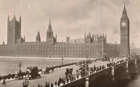 Londoni időutazás régi képeslapokon