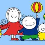 Anna, Peti és Gergő, no meg két gyakorló anya