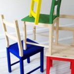 Vigyél kreativitást az egyszerű, fenyőfa székbe!