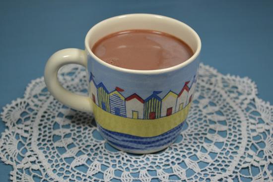 Egy csésze forró kakaó (fotó: Myreille)