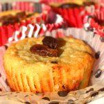 Teaidő könnyű délutánon: túrós-mazsolás muffin
