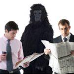 C. Chabris és D. Simons: A láthatatlan gorilla (részlet)