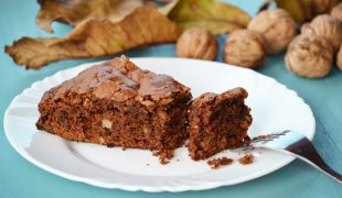 Őszi kamrapolc: diós-mazsolás brownie