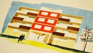 Az Óbudai Kísérleti Lakótelep: Korszerű lakás, 1960