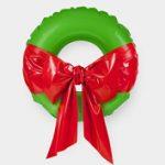 Karácsony 2011: Felfújható karácsonyi koszorú
