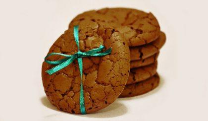 Ropogós-olvadós csokoládés keksz