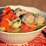 A mai vacsora: húsgombócos leves