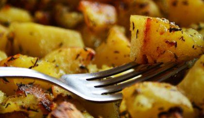 Amikor jó vagyok magamhoz: vajban sült krumpli
