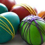 A divatos: merész színek a húsvéti tojáson