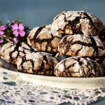 "Gyömbéres-vaníliás ""crackle chocolate cookies"""