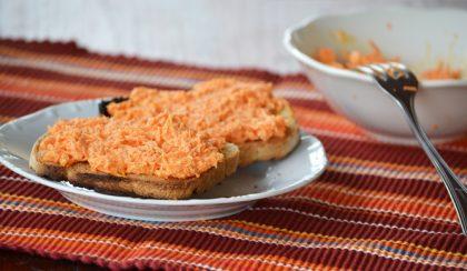 Gyömbéres-sárgarépás szendvicskrém – Jó reggelit!