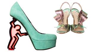 Valami vadság: cipők Nicholas Kirkwoodtól