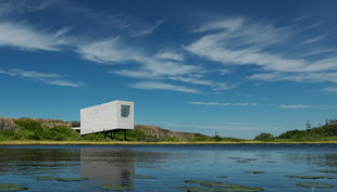 Drámai művész zugok a kanadai Fogo Islandon