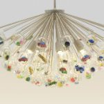 Capsule Lamp: kincseket rejtő csillár nem csak gyerekeknek