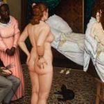Halhatatlan Olympia - az összeollózott festmény