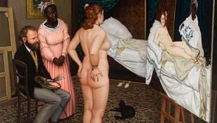 Halhatatlan Olympia – az összeollózott festmény