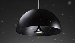 Starry Light: csillagos égbolt a konyhában és a szobában