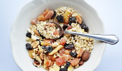 Fejedelmi reggeli – házi készítésű müzli