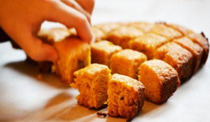 Sütőtökös-gyömbéres sütemény tojás és vaj nélkül