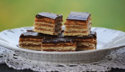 Family recipes: Gerbeaud slice (Zserbó szelet)