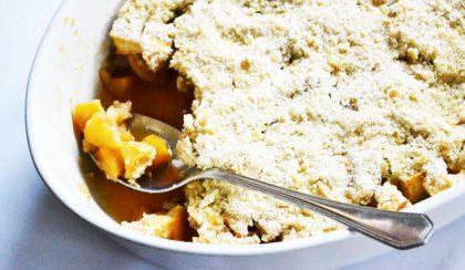 Almás crumble: őszi klasszikus recept rafinált csavarral