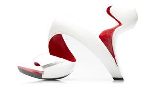 Amikor az építész női lábbelit tervez: Mojito shoe