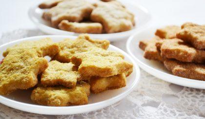Ropogós keksz háromszor: vaníliás, gyömbéres és fahéjas