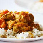 Sütőtök curry csirkemellel vagy anélkül