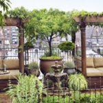 Elképesztő kert egy New York-i ház tetején