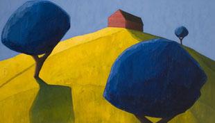 Scott Redden: A vidéki táj festője New York-ban