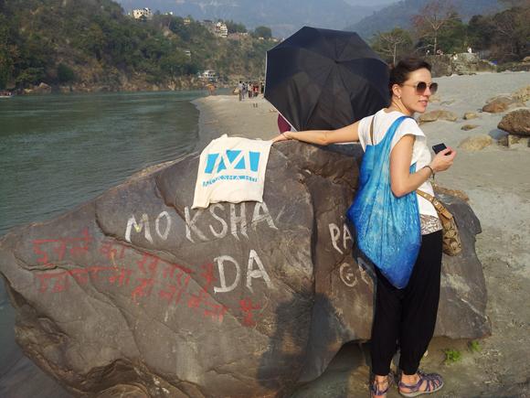 Gangesz, Rishikes, India (Fotó: Edit, 2013)