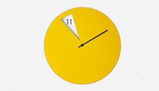 Fókuszban a mutató, avagy az újragondolt óra